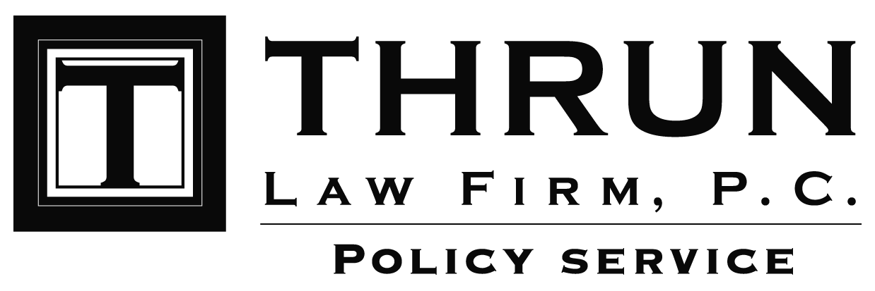 Thrun Law Policy Service